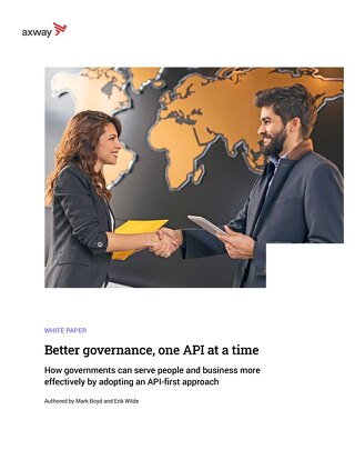 Better governance, one API at a time