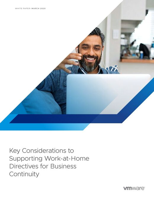 Key Consideration to Support Work-at-Home- VMware