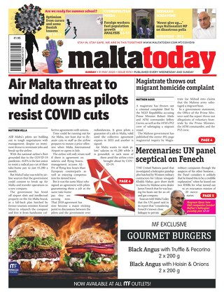 MALTATODAY 31 May 2020