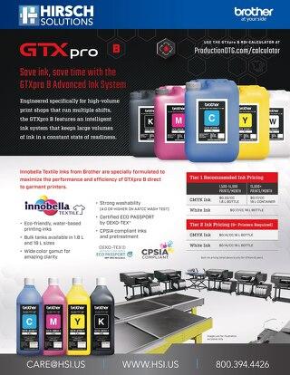 GTX pro Bulk Ink
