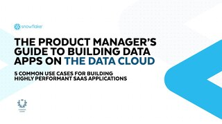 The Product Manager's Guide to Building Data Apps on the Data Cloud