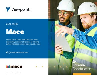 MACE (UK) Tackles Efficiency with Field View