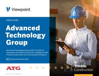 ATG Modernizes Operations with ViewpointOne, Viewpoint Analytics
