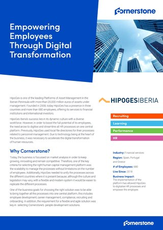 Empowering Employees Through Digital Transformation at Hipoges