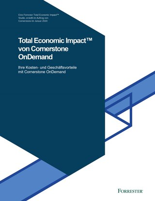 Total Economic Impact von Cornerstone OnDemand