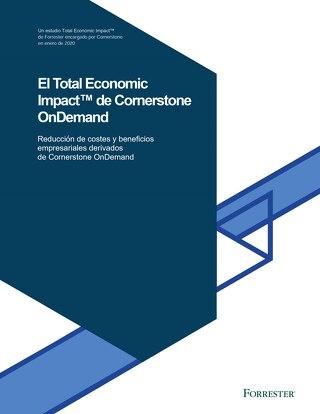 El impacto económico de Cornerstone OnDemand, por Forrester