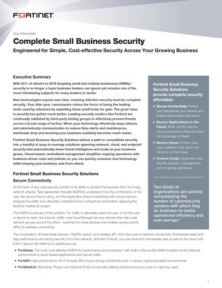 Complete Small Business Security