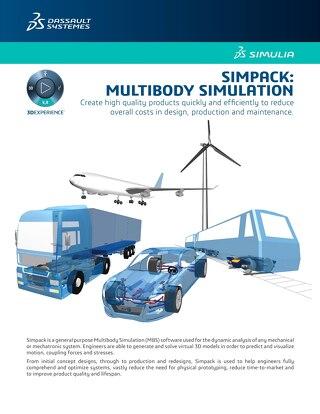 SIMULIA Simpack: Multibody Simulation