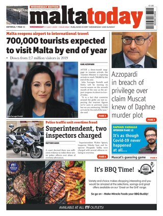 MaltaToday 1 July 2020 MIDWEEK