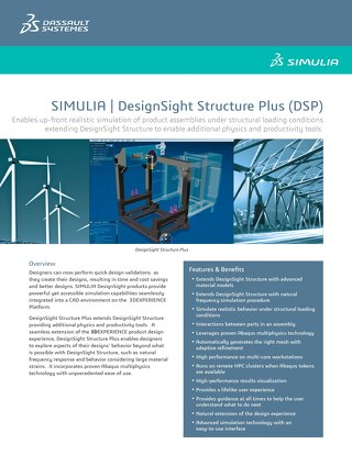 SIMULIA Designsight Structure Plus Datasheet