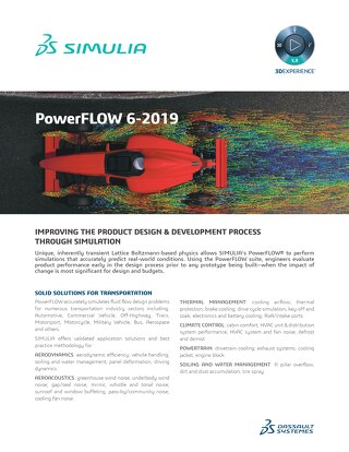 PowerFLOW Product Brief