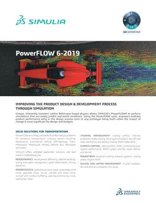 PowerFLOW Product Brief