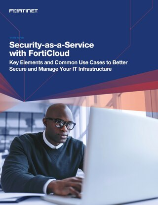 Security-as-a-Service with FortiCloud