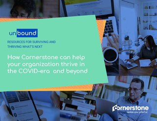 How Cornerstone can help your organisation thrive in the COVID-era and beyond