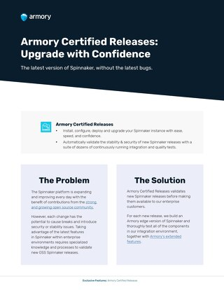 Armory Certified Releases