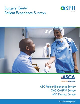 Brochure - Surgery Center Patient Experience Surveys