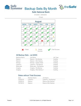 Sample - CVault Reports