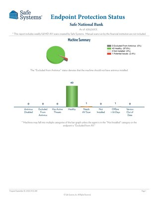 Sample Endpoint Protection Report