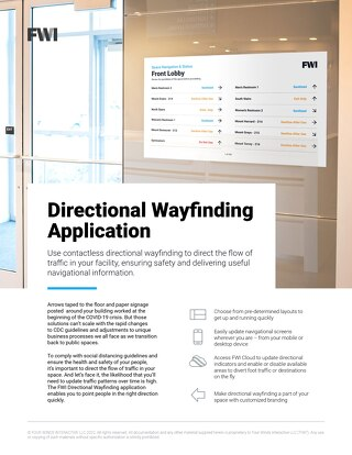 Learn More About Directional Wayfinding