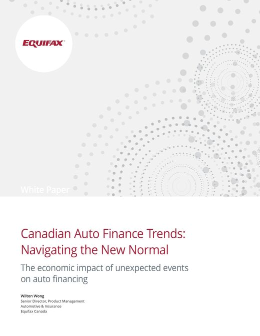 White Paper: Canadian Auto Finance Trends