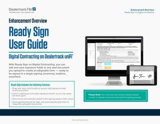 Ready Sign User Guide