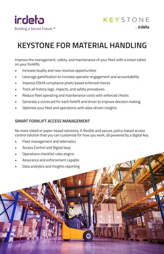 Brochure: Keystone for Material Handling