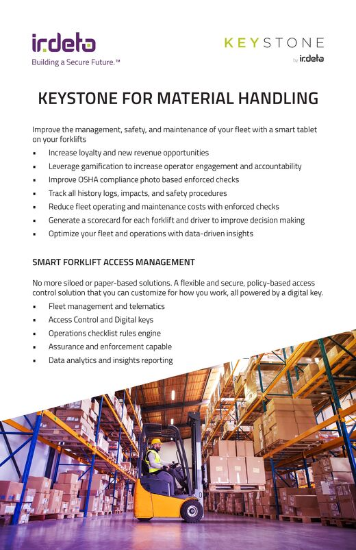 Brochure: Keystone for Material Handling