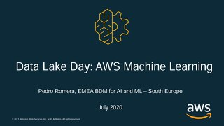 Data Lake Event Italy - Machine Learning