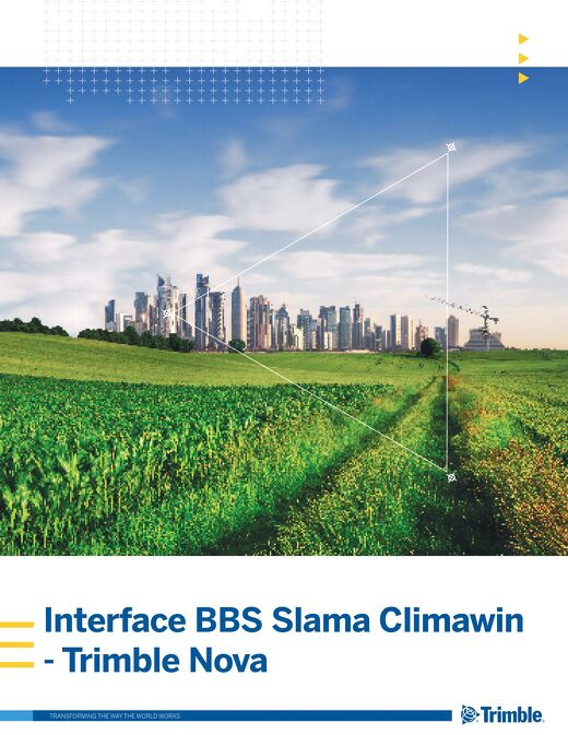 Interface BBS Slama Climawin - Trimble Nova
