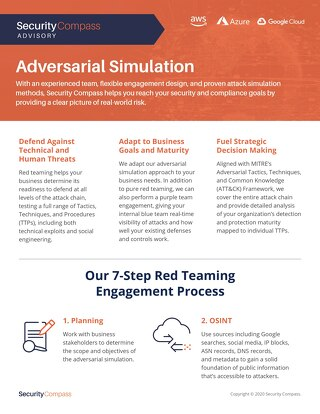 Adversarial Simulation