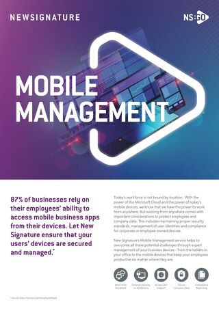 NS:GO Mobile Management 2020 Flyer