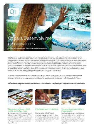 Qt para Desenvolvimento de Aplicações