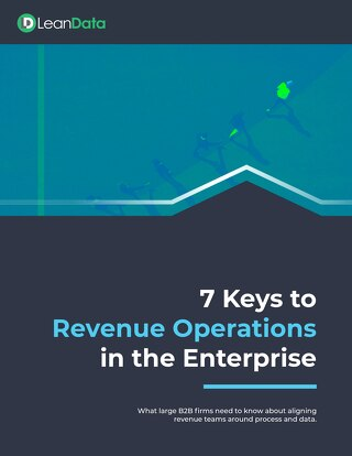7 Keys to Revenue Operations in the Enterprise