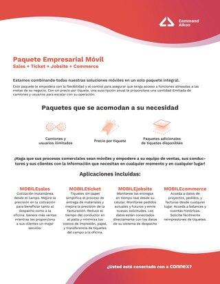 Paquete Empresarial: Soluciones Móviles