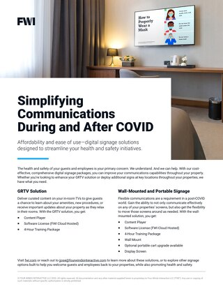 Simplify Communications During and After COVID
