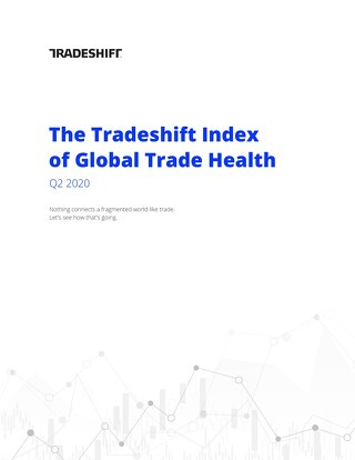 Tradeshift's Index of Global Trade Health Report Q2 2020