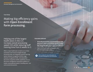 Document Automation Advances Support Medicare Open Enrollment