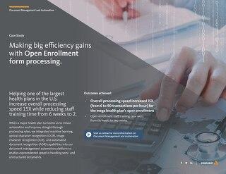 Document Automation Advances Support Medicare Open Enrollment