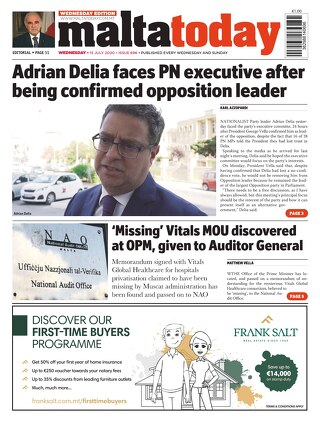 MaltaToday 15 July 2020 MIDWEEK