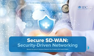 IDC InfoBrief - Secure SD-WAN: Security-Driven Networking