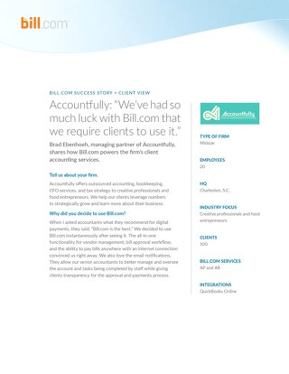 Case Study: Accountfully