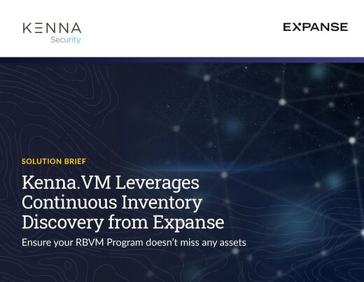 Kenna Expanse Joint Solution Brief