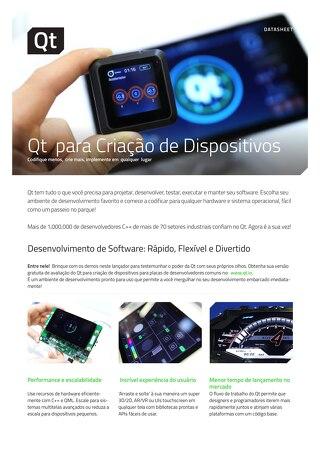 Qt para Criação de Dispositivos