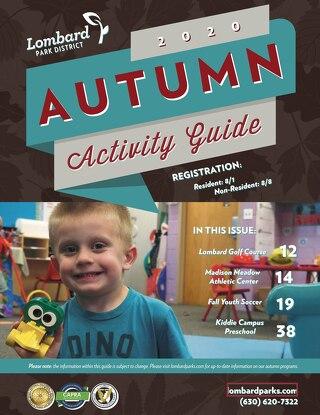 2020 Autumn Activity Guide