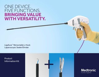 Value Analysis Brief: LigaSure™ Retractable L-hook Laparoscopic Vessel Sealer-Divider