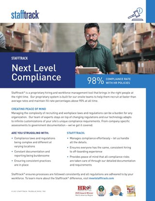 Stafftrack: Next Level Compliance