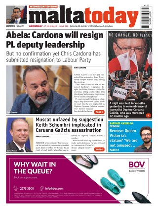 MaltaToday 17 June 2020 MIDWEEK