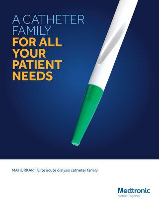 Brochure: Mahurkar™ Elite Acute Dialysis Catheter Family
