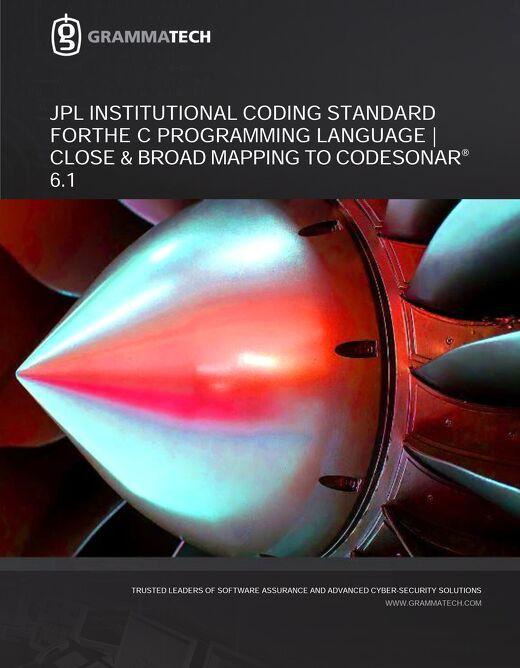 GrammaTech CodeSonar JPL Mapping