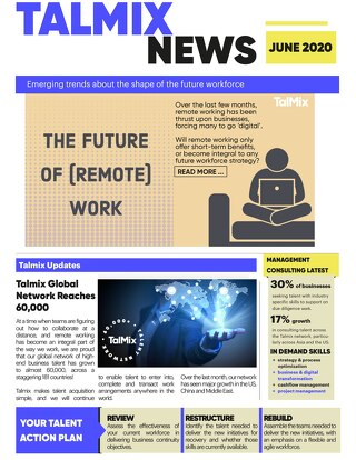 Management Consulting Newsletter (June)